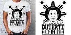 Image result for duterte logo Logos, Mens Tops, T Shirt, Image, Supreme T Shirt, Tee Shirt, Logo, Tee