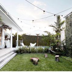 ev decor magnolia homes, byron beach и outdoor rooms Outdoor Areas, Outdoor Rooms, Outdoor Living, Byron Bay Beach, Houses Architecture, House Ideas, Magnolia Homes, Back Gardens, Outdoor Entertaining