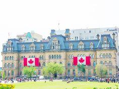 Edifice Langevin - Ottawa, Ontario, Canada #blog #life #lifestyle #voyage #travel #trip #citytrip #expat #expatlife #EdificeLangevin #LangevinBlock #BoulevardDeLaConfédération #ConfederationBoulevard #Ottawa #Ontario #Canada http://mamzelleboom.com/2015/07/29/visiter-ottawa-ontario-gatineau-quebec-capitale-du-canada-en-un-week-end-de-2-jours/