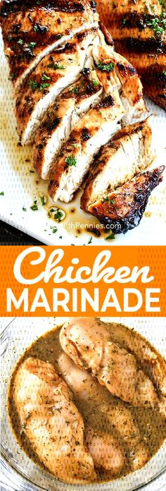 #spendwithpennies #chickenmarinade #marinaderecipe #marinade #chicken #grilled #brea... Marinade Chicken, Chicken Marinades, Italian Chicken Breast, Spend With Pennies, French Toast, Breakfast, Food, Morning Coffee, Marinated Chicken