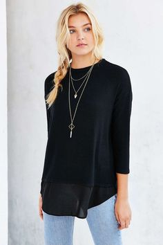 BDG Kyle Layered Top - Urban Outfitters
