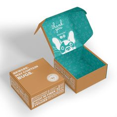 Design a crazy shipping box for an innovative dog nutrition company! Food Packaging Design, Print Packaging, Packaging Design Inspiration, Packaging Ideas, Kraft Box Packaging, Custom Packaging Boxes, Product Packaging, Custom Mailer Boxes, Custom Printed Boxes