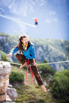 International Highline Meeting -  Monte Piana,  Italy