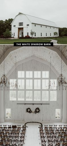 The 17 Coolest Barns to Get Married At in the United States Green Wedding Shoes Barn Venue The White Sparrow Barn