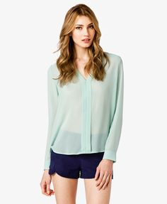 Georgette Y-Neck Top $22.80  http://www.forever21.com/Product/Product.aspx?BR=f21=top=2011779301=