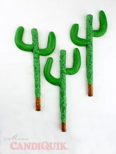 Cactus Pretzels! Perfect for Cinco de Mayo or a FIESTA!!!
