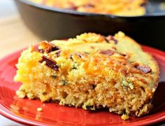 bake this cornbread in a cast iron skillet
