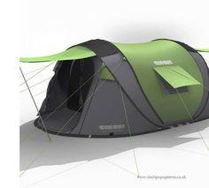 Cinch Pop Up Tent 3 Person Tent | eBay