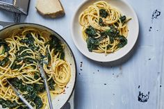 Spaghetti with Lots of Kale