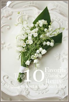 10 MUST HAVE ITEMS FOR SETTING A FABULOUS TABLESCAPE-stonegableblog.com