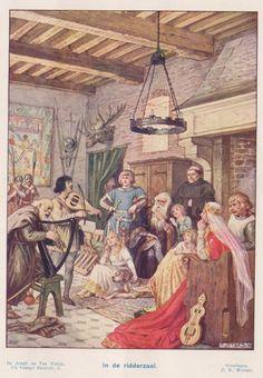 Cornelius, Medieval Castle, Historical Pictures, Anton Pieck, Indie, Drawings, Artist, Painting, Music