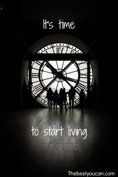 It's time to start living. thebestyoucan.com