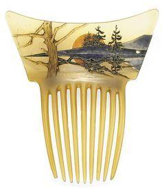 art nouveau haircombs - Buscar con Google