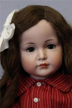 "23"" K R 117A Mein Liebling German Bisque Doll Closed Mouth Perfect Condition 