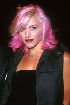 Forgotten Celeb Hair Colors You Need To See Again #refinery29  http://www.static3.refinery29.com/2016/01/101877/forgotten-celebrity-hairstyles#slide-5  Gwen Stefani Perfects PinkBack in the late '90s, when Gwen and No Doubt were more ska than pop, she took major beauty risks: some controversial (as in the case of culturally appropriated bindis), some unexpected (as in full-on metal braces), a...