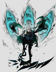 rael (conjurador/hechicero mayor medio demonio)