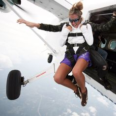 because why wouldn't jumping out of a perfectly good plane be a great idea?