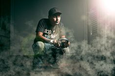 DJ Photoshoot I did a while back. Would have done a few things different these days, however still enjoy the photo.