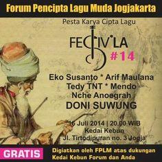 FestivLa #14 : Ajang Karya Lagu orisinil Jogja