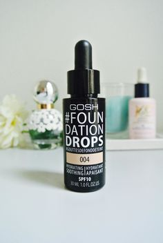 Review | Gosh #Foundation Drops I've been after a good liquid foundation for a while now and seemed to have no luck until I stumbled upon this gem!