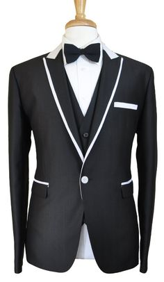 If I can find this with a pair of black and white shoes; I would have my wedding tux.