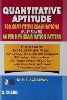 Buy Quantitative Aptitude for Competitive Examinations  #Aptitude #CompetitiveExaminations #Books