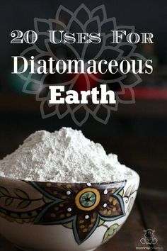 There are many uses for diatomaceous earth. It can nourish hair, skin and nails, rid your pets and home of critters, and keep your garden healthy.