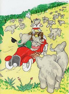 Babar the Elephant, created by Jean de Brunhoff