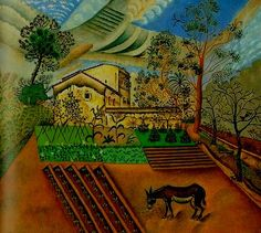 A Horta com o Burro -1918  Miró