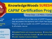 Invest Three (3) Days in KnowledgeWoods SURESHOT™ CAPM® Preparation Program:-    LEARN  UNDERSTAND  REMEMBER &  APPLY
