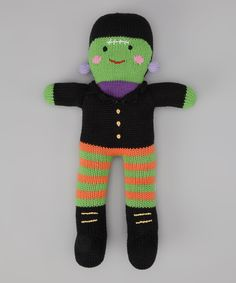 12'' Frankenstein Plush Toy | Daily deals for moms, babies and kids