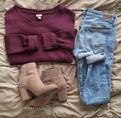 Best Cute Fall Outfits Part 40 Cute Fall Outfits, Fall Winter Outfits, Outfits For Teens, Autumn Winter Fashion, Trendy Outfits, Mode Outfits, Fashion Outfits, Mode Shoes, School Looks