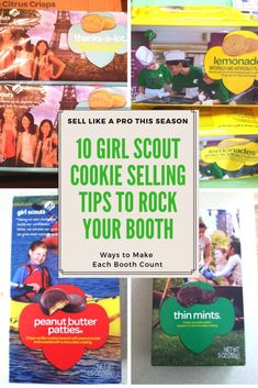 10 Girl Scout Cookie Booth Selling Tips 10 Tips to Rock Your Girl Sc. - 10 Girl Scout Cookie Booth Selling Tips 10 Tips to Rock Your Girl Scout Cookie Booth Th - Selling Girl Scout Cookies, Girl Scout Cookies Flavors, Girl Scout Cookie Sales, Order Girl Scout Cookies, Junior Girl Scout Badges, Girl Scout Juniors, Girl Scout Leader, Girl Scout Troop, Scout Mom