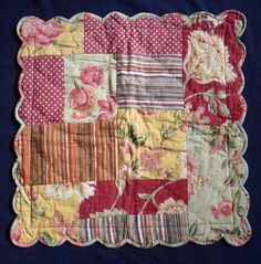April Cornell Pillow Sham Quilted Cotton Floral Polka Dots Stripes Red Green Etc #AprilCornell