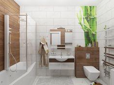 Интерьер ванной комнаты. #ванна #ванная_комната #интерьер #дизайн