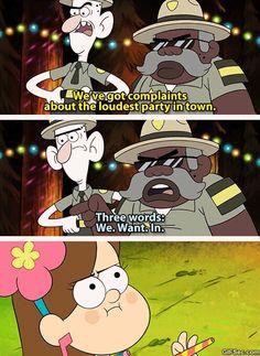 Best Party Ever Mabel Pines Gravity Falls (gif) Dipper Y Mabel, Mabel Pines, Dipper Pines, Pixar, Gravity Falls Comics, Gravity Falls Funny, Monster Falls, Gavity Falls, Akira