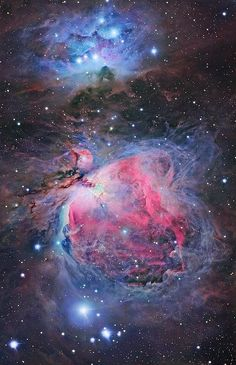 This is a deep image of the Sword of Orion - the three stars that make up the weapon hanging off the belt of this famous celestial hunter. The image showcases the amazing mix of physical and optical processes including atomic emission, Rayleigh scattering, reflection and absorbtion of light, that go on in this star forming region to create this kaleidescope of colours and details. http://www.thesciencenews.info/p/blog-page.html
