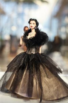 POUT Exhibition - this Jason Wu doll makes me think of real-life model Crystal Renn.