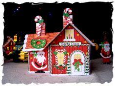 FREE Printable Santa's House for Christmas