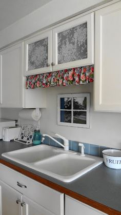 For the love of white: Dressing up a small kitchen