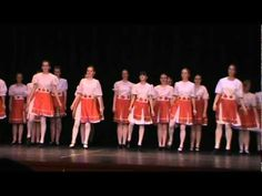 MacCulloch Dancers - Ballad of St-Anne's: Awesome dance for seniors!! (c...