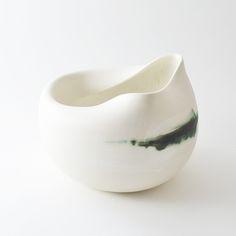 altered porcelain vessel