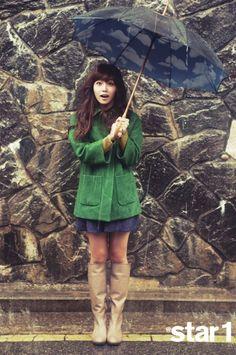Jung Eun Ji for @Star1