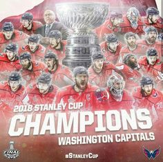 Congratulations to the Washington Capitals Ovechkin Bäckström Burakovsky and their organization for finally reaching the Stanley Cup! Have fun this summer! Stanley Cup Playoffs, Stanley Cup Finals, Stanley Cup Champions, Hockey Memes, Hockey Goalie, Washington Capitals Stanley Cup, Washington Dc, Alexander Ovechkin, Braden Holtby