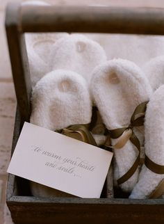 Vintage Fusion Wedding of Elizabeth Messina - White,  Brown,  Favors