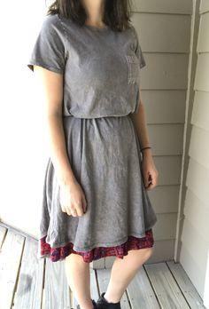 Carly belted & layered over a Madison skirt. Lularoe ways to wear. Outfit ideas.
