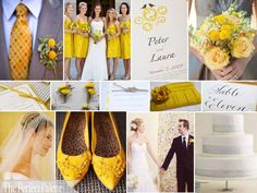 By Request: Yellow & Gray: We Adore this Palette!