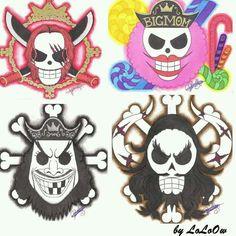 One Piece Logo, One Piece Tattoos, One Piece World, Barba Blanca One Piece, Kaido One Piece, The Pirate King, Anime Episodes, Fanart, Jolly Roger