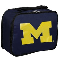 NCAA Michigan Wolverines Lunchbreak Lunchbox by Concept 1. $13.31. The lunchbreak is a cool and handy lunchbox for school or work that shows your favorite collegiate team's logo.. Save 11% Off!