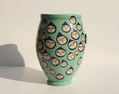 kinska ceramic vase, via Flickr.